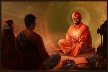 Spiritual Initiation of Sri Haripada Mitra and Smt Indumati Mitra by Swami Vivekananda