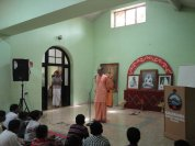 On importance of reading moral stories by Swami Muktivratananda