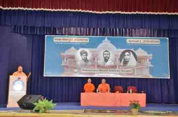 Swami Anupamanandaji Maharaj, Secretary, Ramakrishna Mission Ashrama, Tirupati